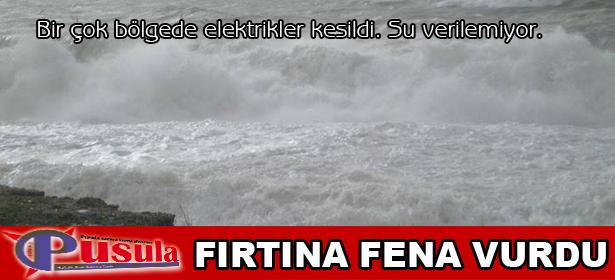 FIRTINA FENA VURDU