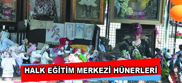 HALK E��T�M MERKEZ� H�NERLER�
