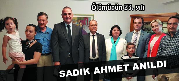 SADIK AHMET ANILDI