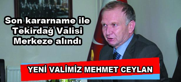 YEN� VAL� MEHMET CEYLAN