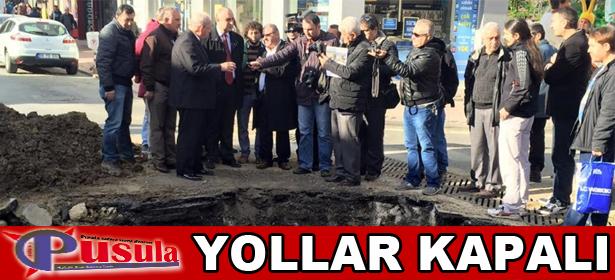 YOLLAR KAPALI