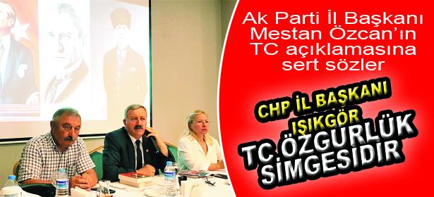 TC ÖZGÜRLÜK SİMGESİDİR